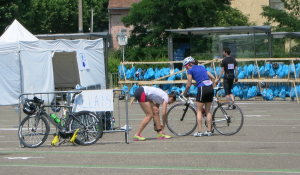 Relai vélo-course à pied